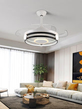 "Load image into Gallery viewer, 42"" Ceiling Fans With Invisible Retractable Blades"