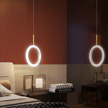 Load image into Gallery viewer, Modern Nordic Golden Pendant Lamp