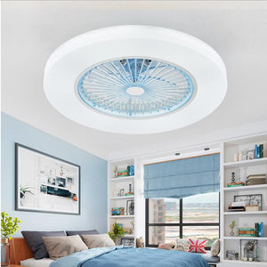 LED dimming remote control ceiling Fans lamp With Invisible Leaves