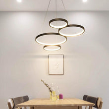 Load image into Gallery viewer, Lighting Garner - White/Black Modern LED Suspension Lights