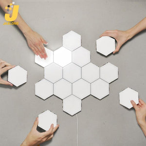 Nordic Hexagonal Sensitive Touch Interior Home LED Tiles
