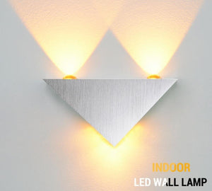 Led indoor bedside hallway wall lamp