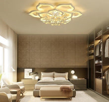 Load image into Gallery viewer, Crystal LED Ceiling Lights For Living Room bedroom with remote control