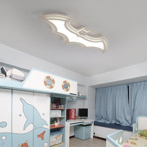 Batman Acrylic Modern LED Ceiling Lamp For Childroom