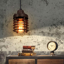 Load image into Gallery viewer, Vintage Loft LED Black Metal Pendant Industrial Decor Lighting Fixtures