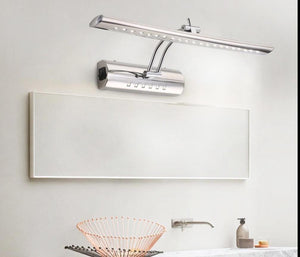 Waterproof Wall Mounted Indoor Modern Bathroom Mirror Light