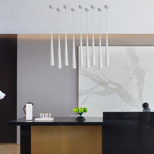 Dimmable COB Cone LED Modern pendant light droplight fixture