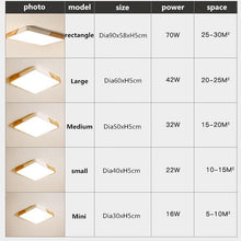 Load image into Gallery viewer, Ultra-thin LED 5cm Ceiling Light Modern Ceiling Lamp Surface Mount Flush Panel Remote Control Light for Restaurant Foyer Bedroom