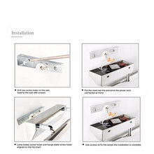 Load image into Gallery viewer, Waterproof Wall Mounted Indoor Modern Bathroom Mirror Light