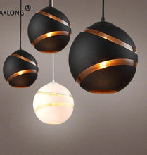 Load image into Gallery viewer, Modern Nordic Globe Retro Ball Bubble Pendant Lights