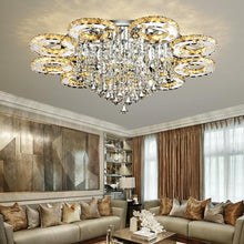 Load image into Gallery viewer, Modern Led Crystal Ceiling Lights