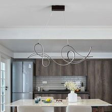 Load image into Gallery viewer, Lighting Garner - Modern Coffee Finish Hanging Chandelier Fixture