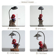 Load image into Gallery viewer,  Resin Craft Kid's Home Desktop Table Lamp Figurines