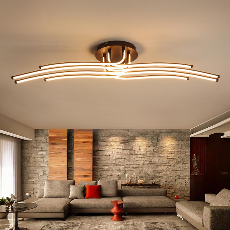 Creative Coffee Minimalism Ceiling Lamp For Living Room