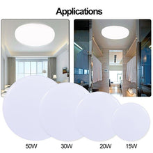Load image into Gallery viewer, Surface Mounted Ultra Thin Hall LED Ceiling Lighting