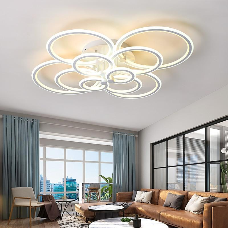 Lighting Garner - Double Glow Remote Controller Dimmable Ceiling Chandelier