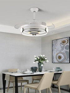 "42"" Ceiling Fans With Invisible Retractable Blades"