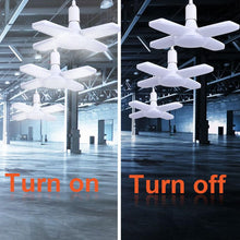 Load image into Gallery viewer, Industrial Three-leaf LED Garage Lighting