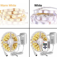 Load image into Gallery viewer, 5M LED light Strip Waterproof 2835 Ribbon LED Strip Dimmable Touch Sensor Switch