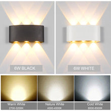 Load image into Gallery viewer, Nordic LED Waterproof outdoor wall lights for Porch/ /Garden /Bathroom