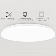 Load image into Gallery viewer, APP Voice Remote Control LED Smart Round Ceiling Light