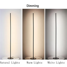 Load image into Gallery viewer, Nordic Bedside Dimming LED Standing Lamp