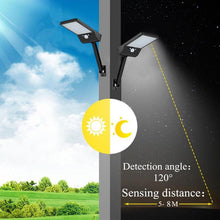 Load image into Gallery viewer, Motion Sensor IP65 Outdoor Solar Wall Street Waterproof Lamp