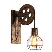 Load image into Gallery viewer, Rustic Wall Lamp