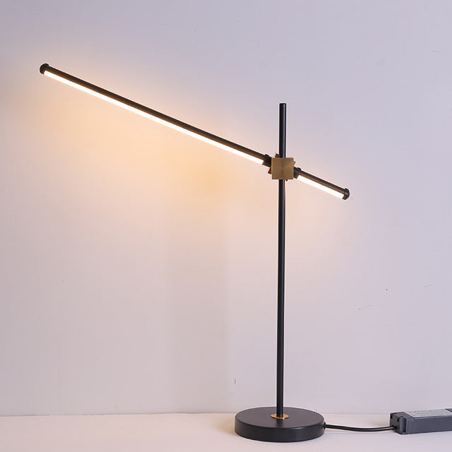 Black color Postmodern LED floor lamp for living room