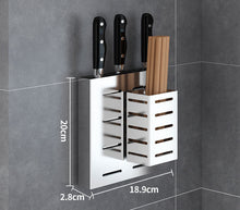 Load image into Gallery viewer, 304 Stainless Steel Wall Mount Kitchen Storage Rack Dish Drainer