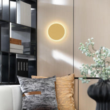 Load image into Gallery viewer, Indoor Acrylic Round Simple Wall Light