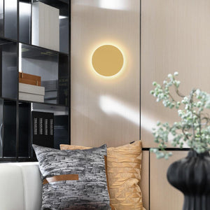 Indoor Acrylic Round Simple Wall Light