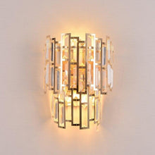 Load image into Gallery viewer, Golden Crystal Wall Light