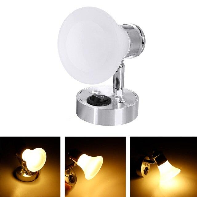 Adjustable Bedside Reading Wall Lamp