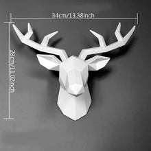 Load image into Gallery viewer, 3D Deer Head Sculpture Home Decoration Accessories