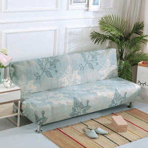 Universal Size Armless Elastic Couch Sofa Bed Cover