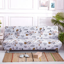 Load image into Gallery viewer, Universal Size Armless Elastic Couch Sofa Bed Cover