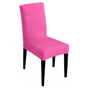 20 Solid Colours Cheap Slipcovers Stretch Chair Cover