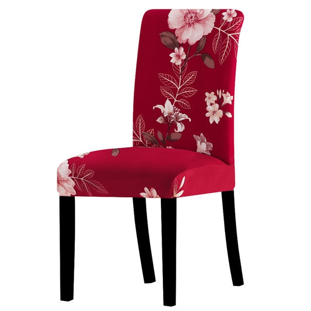 Printing Stretch Big Elastic Seat Chair Covers Univerasl Size Slipcovers