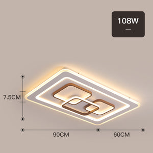 Square/rectangle Modern LED ceiling light