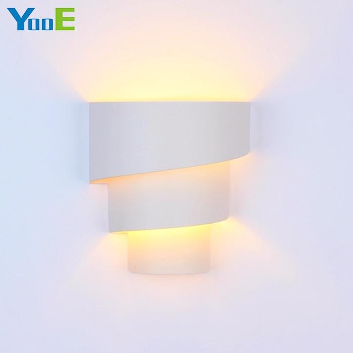 YooE  Indoor Wall lamp Home Fashion decoration Wall Sconce Lighting Iron  material arc elegent E27 holder Wall Light