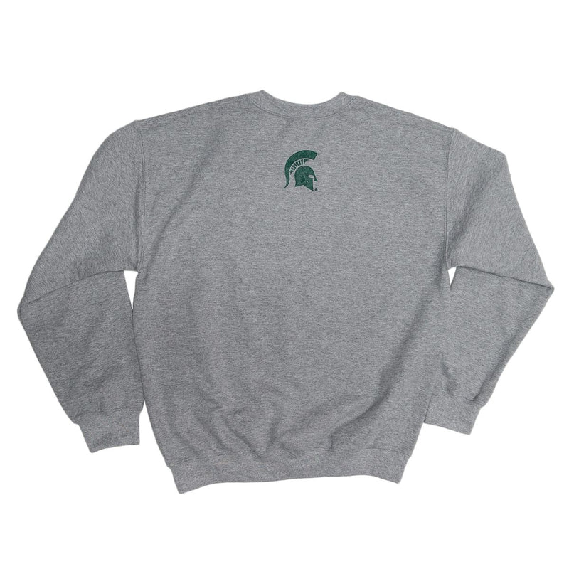 Broad College of Business Gray Crewneck Sweatshirt - shop.msu.edu