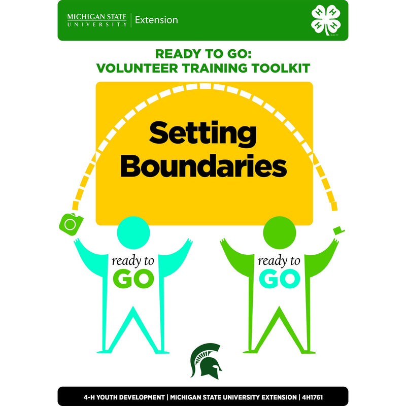 Ready to Go Unit 2: Setting Boundaries - shop.msu.edu