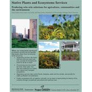 Native Plants and Ecosystems Services: Producing Win-Win Solutions for Agriculture, Communities and the Environment - shop.msu.edu