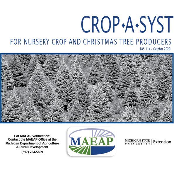 Crop *A* Syst for Nursery Crop and Christmas Tree Producers