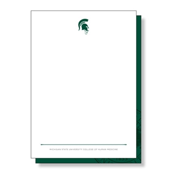 College of Human Medicine Clinical Skills MD Sparty Note Cards
