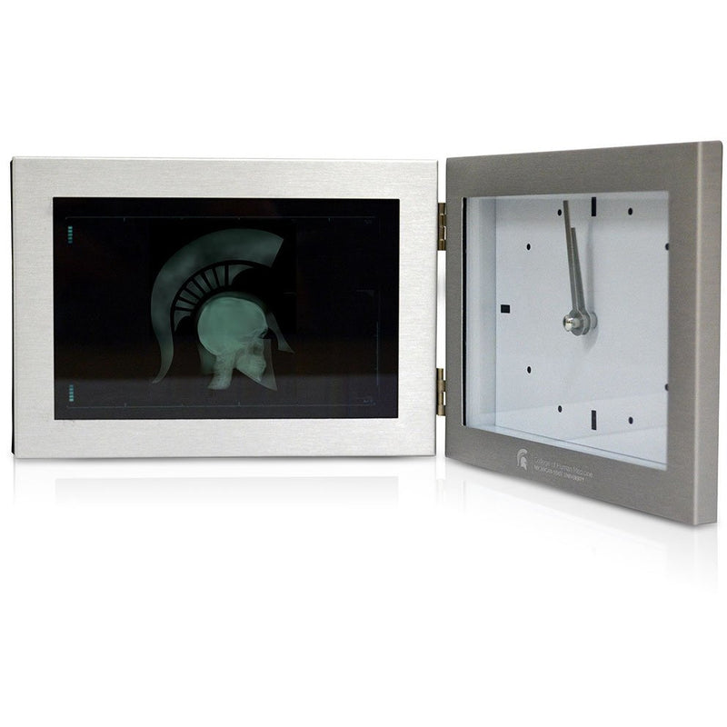 College of Human Medicine MD Sparty Frame and Clock