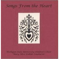"MSU Children's Choir CD - ""Songs From the Heart"""