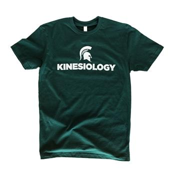 "College of Education ""Kinesiology"" Unisex Short Sleeve T-Shirt, Green - shop.msu.edu"