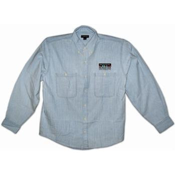 College of Engineering Women's Long Sleeve Chambray Shirts - shop.msu.edu